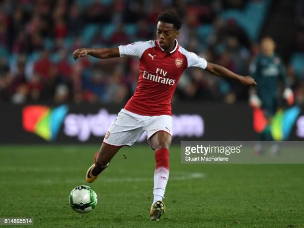 Joe Willock of Arsenal during the match between the Western Sydney Wanderers and Arsenal FC at ANZ Stadium on July 15 2017 in Sydney Australia