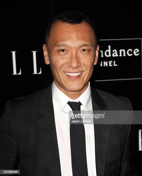 Joe Zee attends ELLE Sundance Channel's celebration of 'All On The Line With Joe Zee' at Soho House on September 19 2012 in West Hollywood California