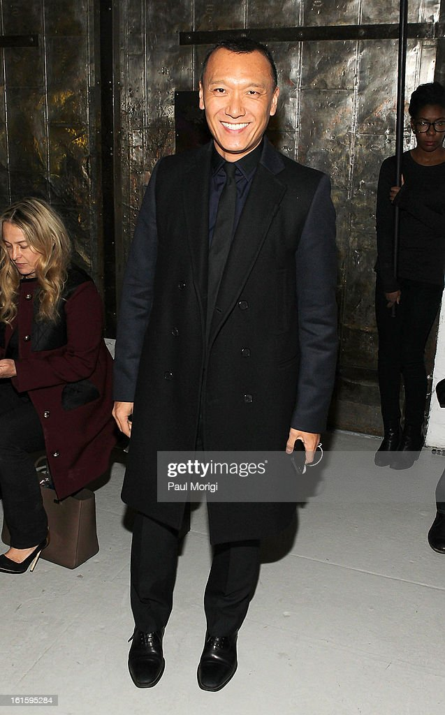 <a gi-track='captionPersonalityLinkClicked' href=/galleries/search?phrase=Joe+Zee&family=editorial&specificpeople=2257766 ng-click='$event.stopPropagation()'>Joe Zee</a> attends Rodarte during Fall 2013 Mercedes-Benz Fashion Week on February 12, 2013 in New York City.