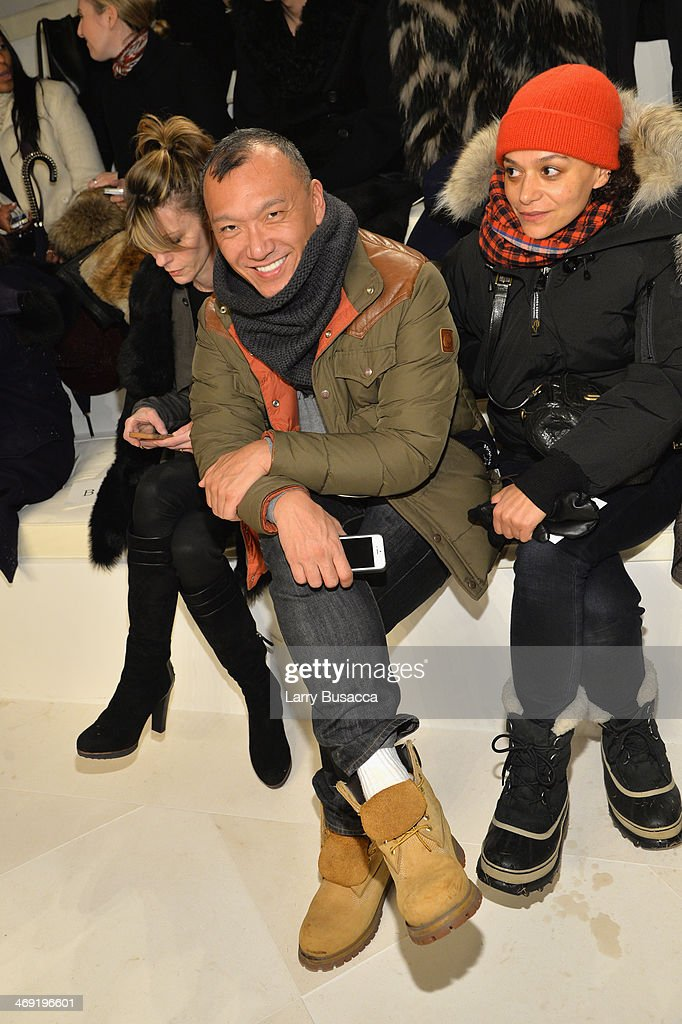 <a gi-track='captionPersonalityLinkClicked' href=/galleries/search?phrase=Joe+Zee&family=editorial&specificpeople=2257766 ng-click='$event.stopPropagation()'>Joe Zee</a> attends the Ralph Lauren fashion show during Mercedes-Benz Fashion Week Fall 2014 at St. John Center Studios on February 13, 2014 in New York City.