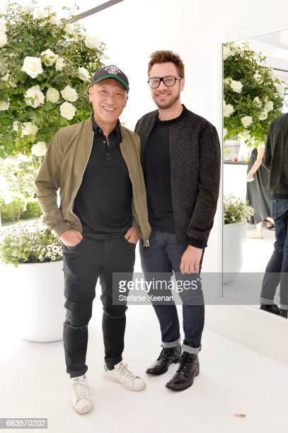 Joe Zee EditorinChief and Executive Creative Officer Yahoo Style and Rob Younkers attend the Victoria Beckham for Target Launch Event on April 1 2017...