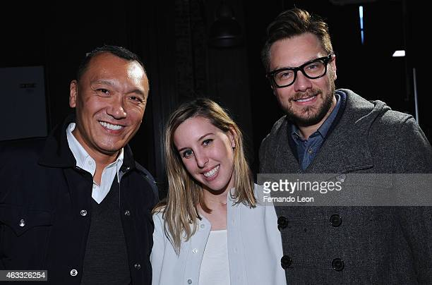 Joe Zee Nikki Chasin and guest attend The New Class presentation presented by Brand Assembly during MercedesBenz Fashion Week Fall 2015 at YouTube...