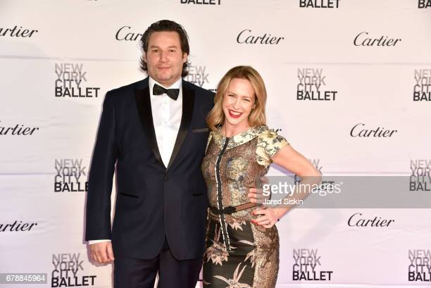 Joel Ammar and Amy Hargreaves attend the New York City Ballet 2017 Spring Gala at David H Koch Theater Lincoln Center on May 4 2017 in New York City
