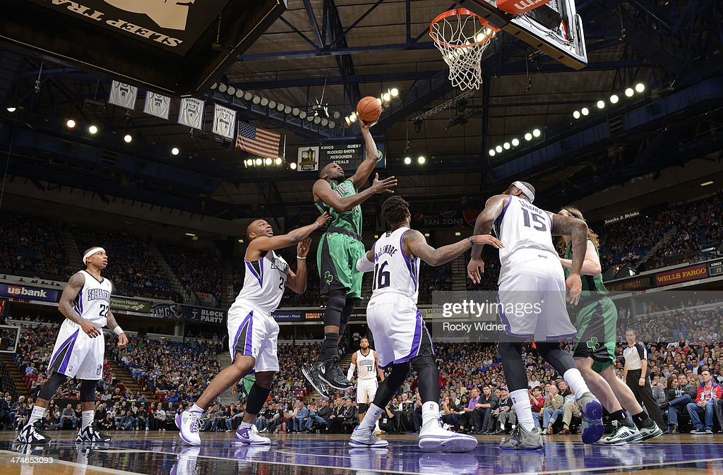 <a gi-track='captionPersonalityLinkClicked' href=/galleries/search?phrase=Joel+Anthony&family=editorial&specificpeople=4092295 ng-click='$event.stopPropagation()'>Joel Anthony</a> #50 of the Boston Celtics shoots against the Sacramento Kings on February 22, 2014 at Sleep Train Arena in Sacramento, California.