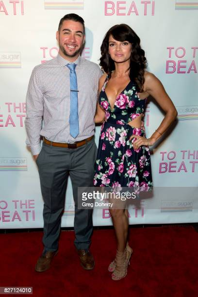 Joel Armendariz and guest arrive for the 'To The Beat' Special Screening at The Colony Theatre on August 6 2017 in Burbank California