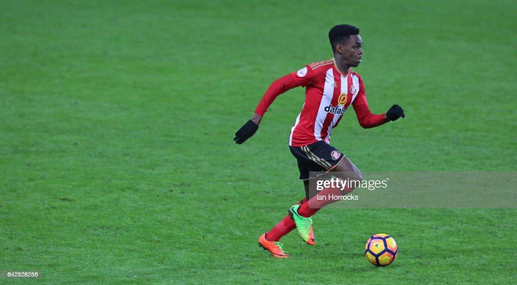 Sunderland U23 v Athletic Bilbao U23: Premier League International Cup Quarter-Final : News Photo