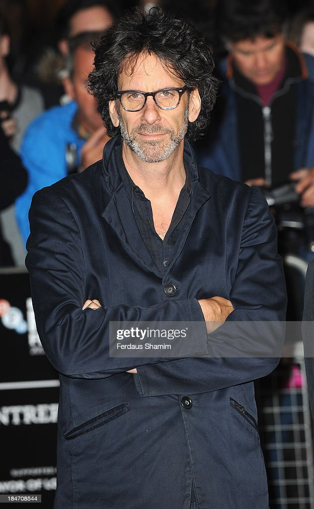 Joel Coen attends the screening of 'Inside Llewyn Davis' Centrepiece Gala Supported By The Mayor Of London during the 57th BFI London Film Festival at Odeon Leicester Square on October 15, 2013 in London, England.