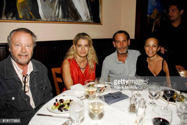 Joel Cohen Angela Ismailos David Salle and Susan Cappa attend After Party for the Hamptons Screening of 'GREAT DIRECTORS' at Paradise Cafe on July 5...