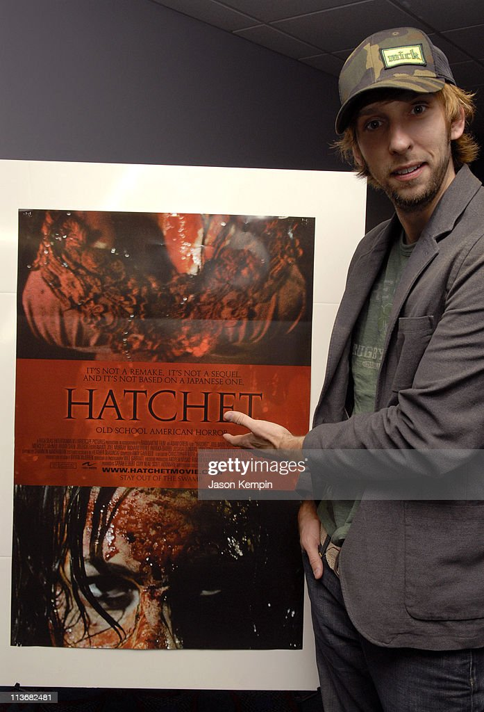 Joel David Moore during 5th Annual Tribeca Film Festival 'Hatchet' Premiere at AMC Lowes Village in New York City New York United States