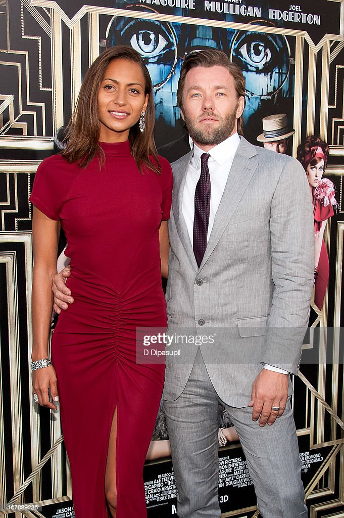 <a gi-track='captionPersonalityLinkClicked' href=/galleries/search?phrase=Joel+Edgerton&family=editorial&specificpeople=211291 ng-click='$event.stopPropagation()'>Joel Edgerton</a> (R) and Alexis Blake attend 'The Great Gatsby' world premiere at Alice Tully Hall at Lincoln Center on May 1, 2013 in New York City.