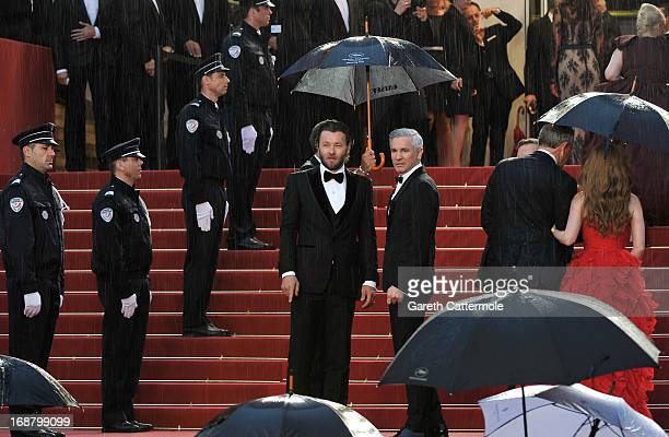 Joel Edgerton and Baz Luhrmann attend the Opening Ceremony and 'The Great Gatsby' Premiere during the 66th Annual Cannes Film Festival at the Theatre...