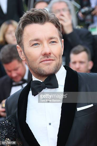 Joel Edgerton attends a screening of 'Loving' at the annual 69th Cannes Film Festival at Palais des Festivals on May 16 2016 in Cannes France
