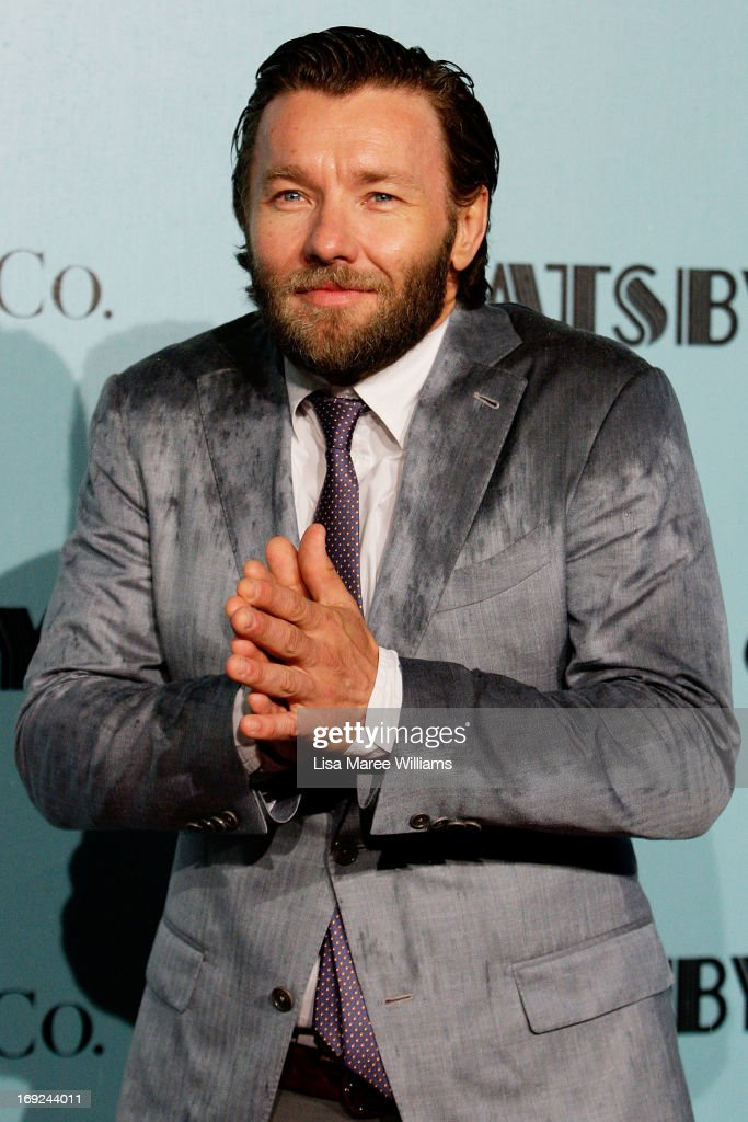<a gi-track='captionPersonalityLinkClicked' href=/galleries/search?phrase=Joel+Edgerton&family=editorial&specificpeople=211291 ng-click='$event.stopPropagation()'>Joel Edgerton</a> attends the 'Great Gatsby' Australian premiere at Moore Park on May 22, 2013 in Sydney, Australia.