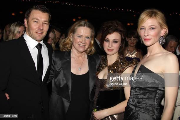 Joel Edgerton director Liv Ullmann Robin McLeavy and Cate Blanchett attend the opening night celebration for 'Streetcar Named Desire' BAM Belle Reve...