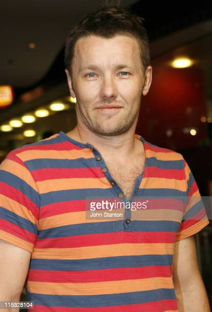 Joel Edgerton during MySpace Black Carpet Premiere of 'Smokin' Aces' February 5 2007 at Hoyts Cinema in Sydney NSW Australia