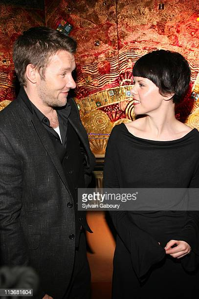 Joel Edgerton with SarahJane Potts during Miramax Films 'Kinky Boots' New York Premiere After Party at Fizz in New York City New York United States