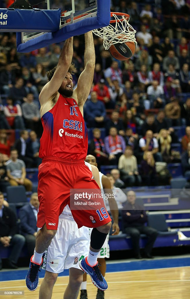 CSKA Moscow v Darussafaka Dogus Istanbul - Turkish Airlines Euroleague