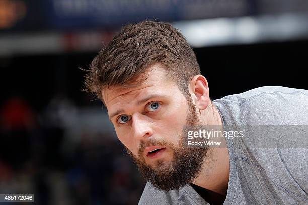 Joel Freeland of the Portland Trail Blazers looks on during the game against the Sacramento Kings on March 1 2015 at Sleep Train Arena in Sacramento...