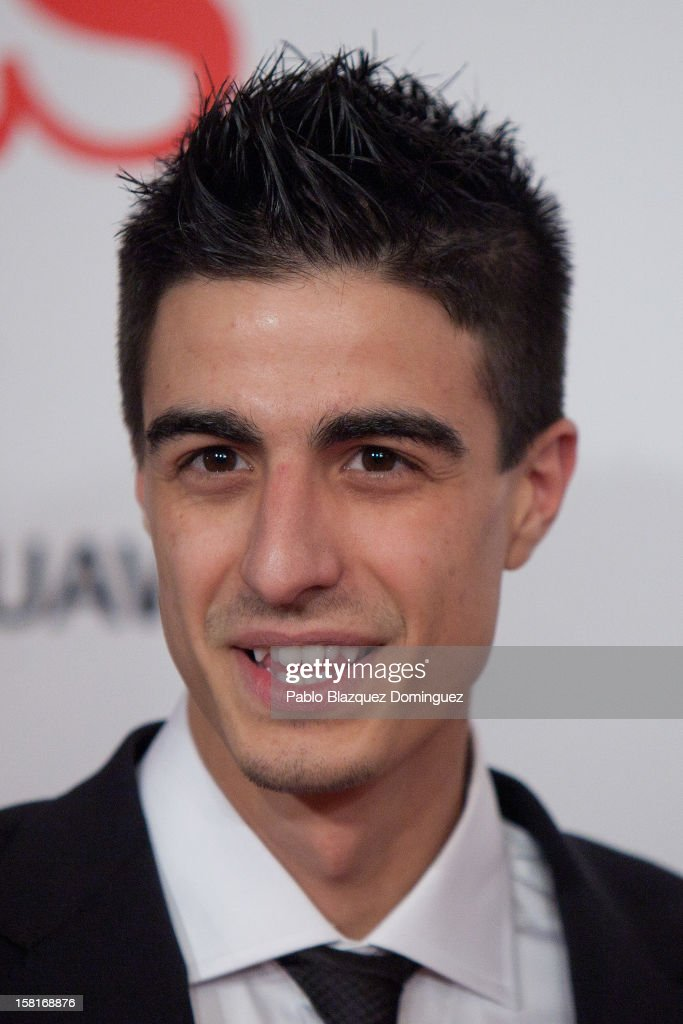 Joel Gonzalez attends 'As Del Deporte' Awards 2012 at The Westin Palace Hotel on December 10, 2012 in Madrid, Spain.