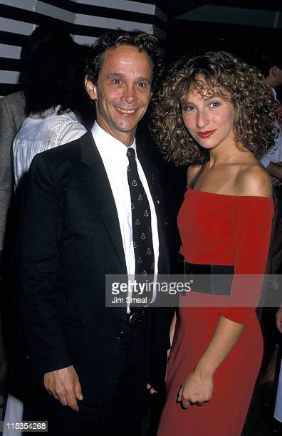 Joel Grey and Jennifer Grey during Premiere of 'Dirty Dancing' at Gemini Theater in New York City New York United States