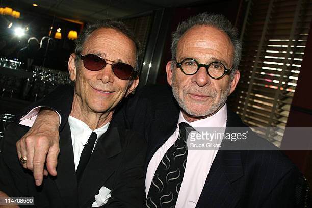Joel Grey and Ron Rifkin during 60th Annual Tony Awards Reunion Photo Luncheon June 1 2006 at Sardi's in New York City New York United States