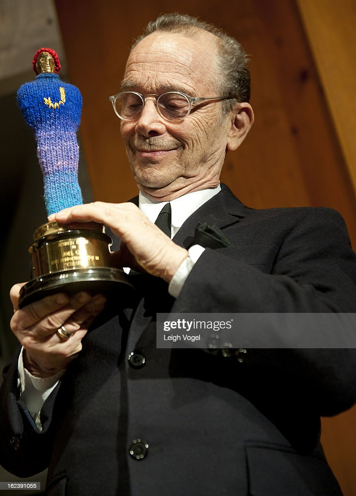 <a gi-track='captionPersonalityLinkClicked' href=/galleries/search?phrase=Joel+Grey&family=editorial&specificpeople=215297 ng-click='$event.stopPropagation()'>Joel Grey</a> attends the 'Cabaret' screening honoring <a gi-track='captionPersonalityLinkClicked' href=/galleries/search?phrase=Joel+Grey&family=editorial&specificpeople=215297 ng-click='$event.stopPropagation()'>Joel Grey</a> at the Smithsonian National Museum Of American History on February 22, 2013 in Washington, DC.