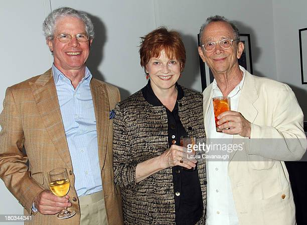 Joel Grey Blair Brown and Dwight Lee attend Private Dinner Celebrating 'Joel Grey The Billboard Papers' Exhibition at Steven Kasher Gallery on...