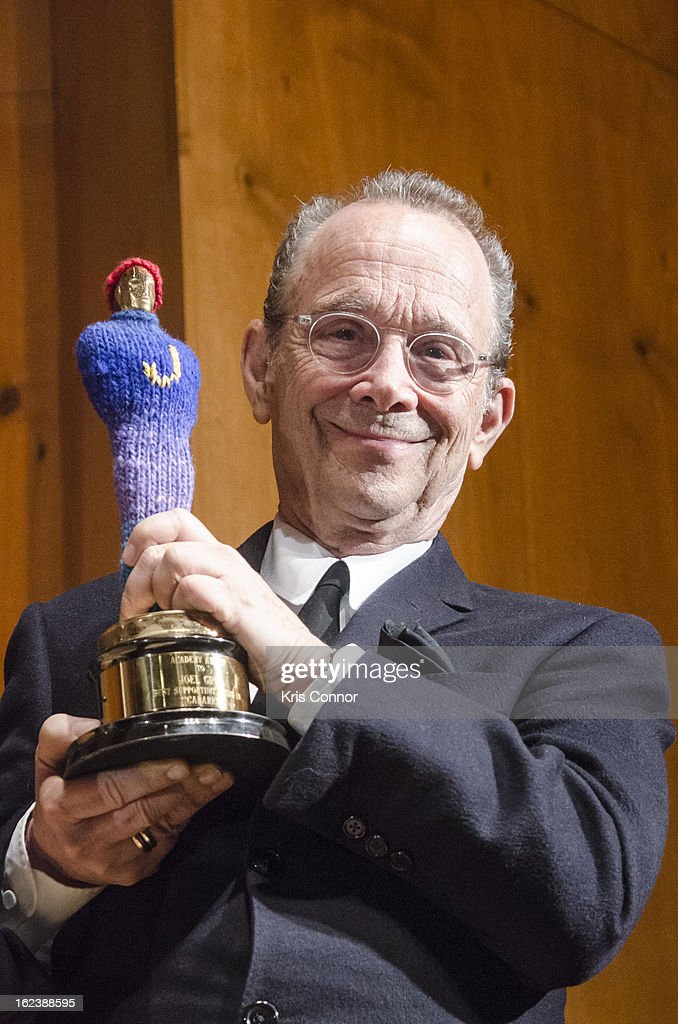 <a gi-track='captionPersonalityLinkClicked' href=/galleries/search?phrase=Joel+Grey&family=editorial&specificpeople=215297 ng-click='$event.stopPropagation()'>Joel Grey</a> poses for a photo during the 'Cabaret' Washington DC Screening Honoring <a gi-track='captionPersonalityLinkClicked' href=/galleries/search?phrase=Joel+Grey&family=editorial&specificpeople=215297 ng-click='$event.stopPropagation()'>Joel Grey</a> at Smithsonian National Museum Of American History on February 22, 2013 in Washington, DC.