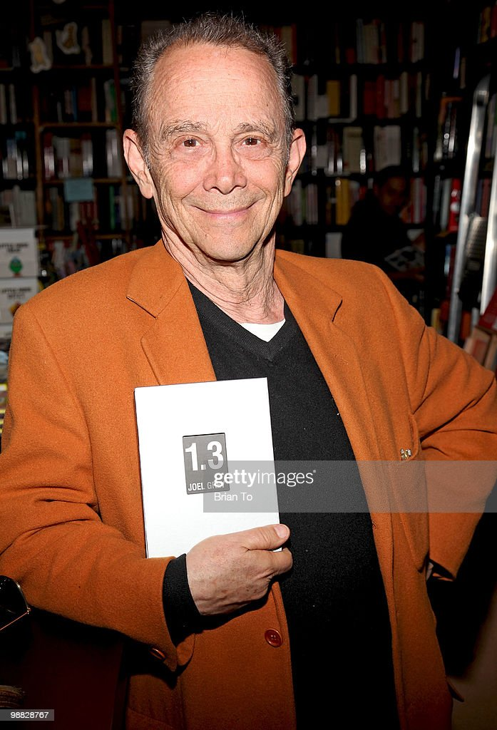 "Joel Grey Signs Copies Of His New Book ""1.3: Images From My Phone"""