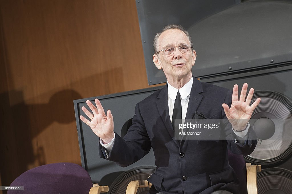 Joel Grey speaks during 'Cabaret' Washington DC Screening Honoring Joel Grey at Smithsonian National Museum Of American History on February 22, 2013 in Washington, DC.