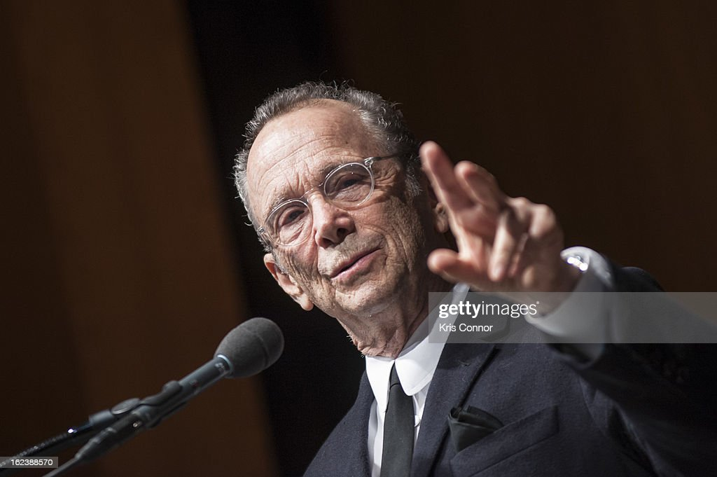 <a gi-track='captionPersonalityLinkClicked' href=/galleries/search?phrase=Joel+Grey&family=editorial&specificpeople=215297 ng-click='$event.stopPropagation()'>Joel Grey</a> speaks during 'Cabaret' Washington DC Screening Honoring <a gi-track='captionPersonalityLinkClicked' href=/galleries/search?phrase=Joel+Grey&family=editorial&specificpeople=215297 ng-click='$event.stopPropagation()'>Joel Grey</a> at Smithsonian National Museum Of American History on February 22, 2013 in Washington, DC.
