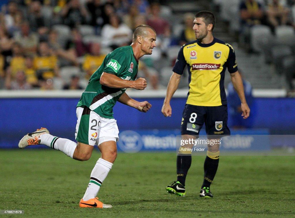 A-League Rd 23 - Central Coast v Newcastle