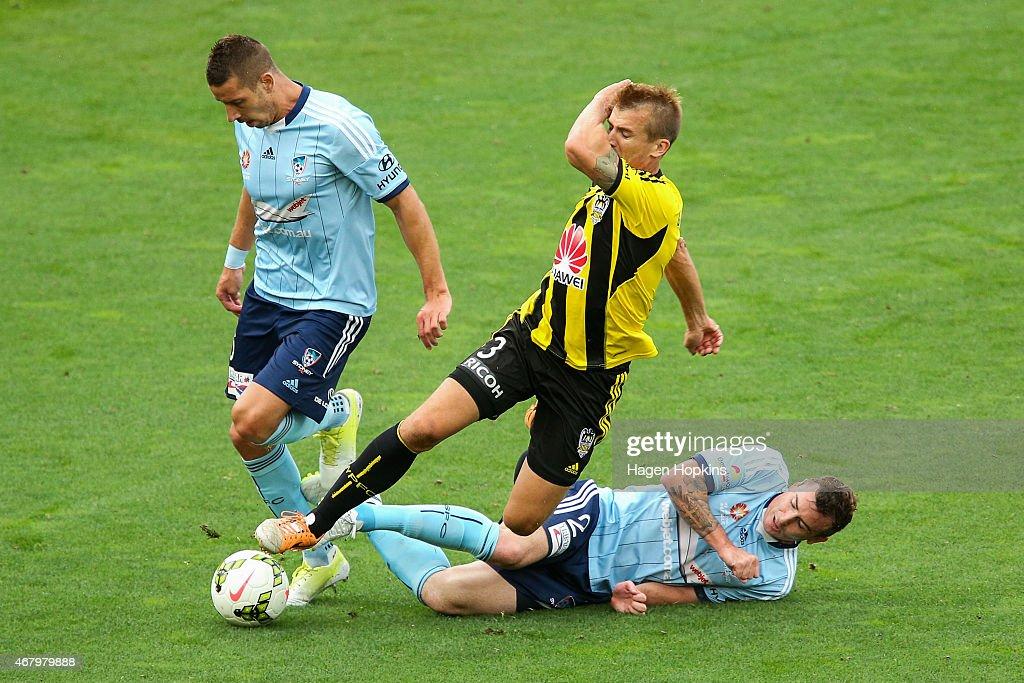 A-League Rd 23 - Wellington v Sydney