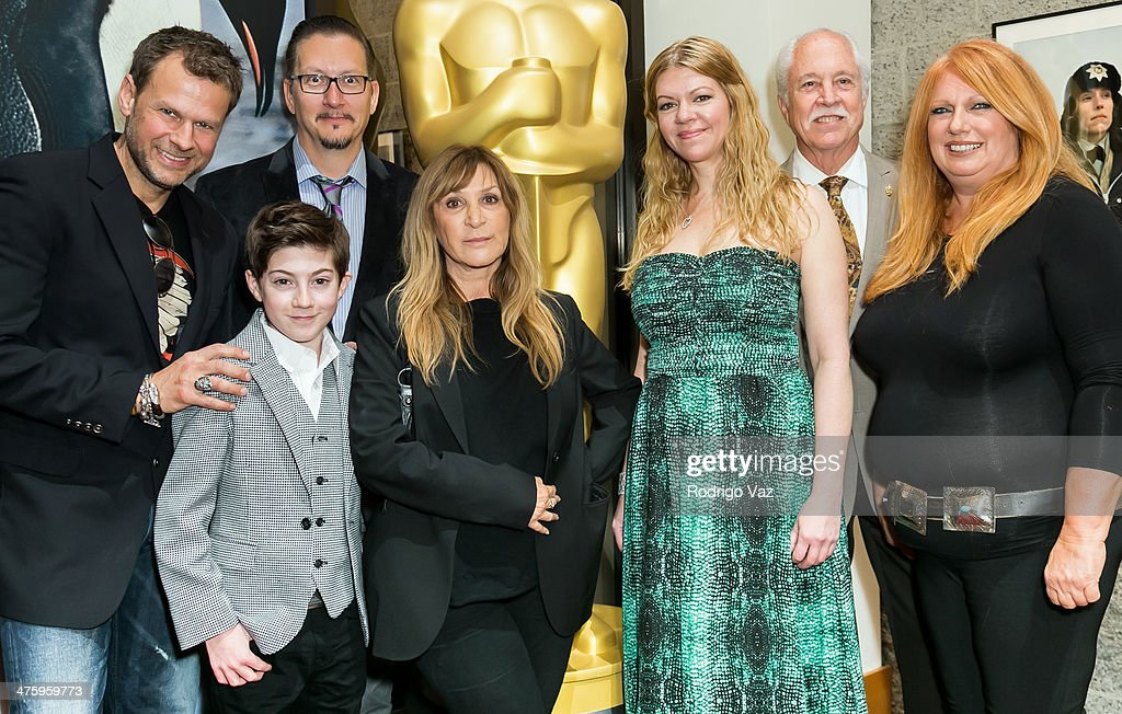 Joel Harlow, Mason Cook, Stephen Prouty, Gloria Pasqa-Casny, Robin Mathews, Leonard Engelman and Adruitha Lee attend the 86th Annual Academy Awards Oscar Week Celebrates Makeup and Hairstyling at AMPAS Samuel Goldwyn Theater on March 1, 2014 in Beverly Hills, California.