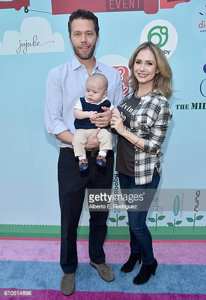 Joel Henricks Hayden Joel Henricks and actress Ashley Jones attend the Step2 Favoredby Present The 5th Annual Red Carpet Safety Awareness Event at...
