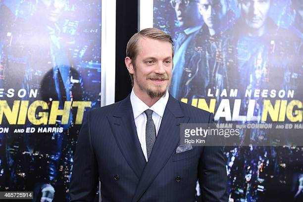 Joel Kinnaman attends 'Run All Night' New York premiere at AMC Lincoln Square Theater on March 9 2015 in New York City