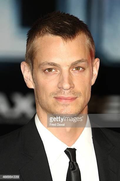 Joel Kinnaman attends the world premiere of 'RoboCop Reboot' at BFI IMAX on February 5 2014 in London England