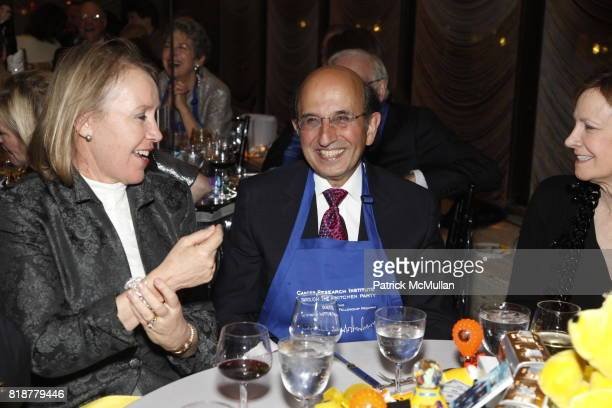 Joel Klein and Nicole Seligman attend CANCER RESEARCH INSTITUTE'S 'Through The Kitchen' Party at The Four Seasons on April 25 2010 in New York City