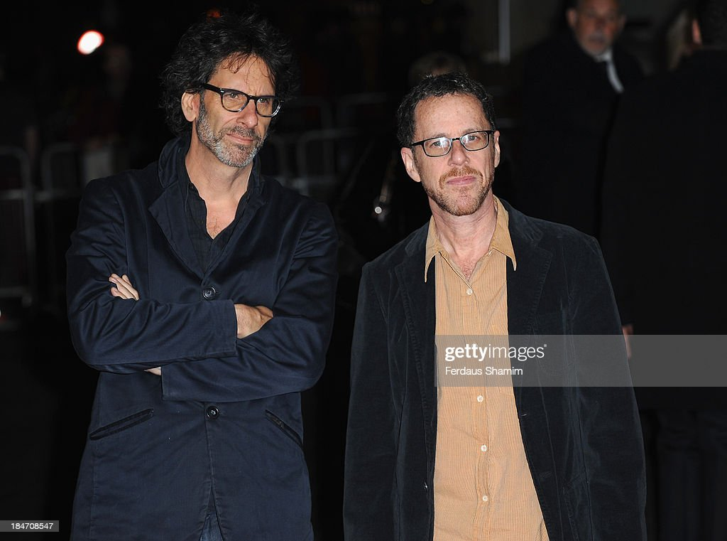Joel Koen and Ethan Coen attend the screening of 'Inside Llewyn Davis' Centrepiece Gala Supported By The Mayor Of London during the 57th BFI London Film Festival at Odeon Leicester Square on October 15, 2013 in London, England.