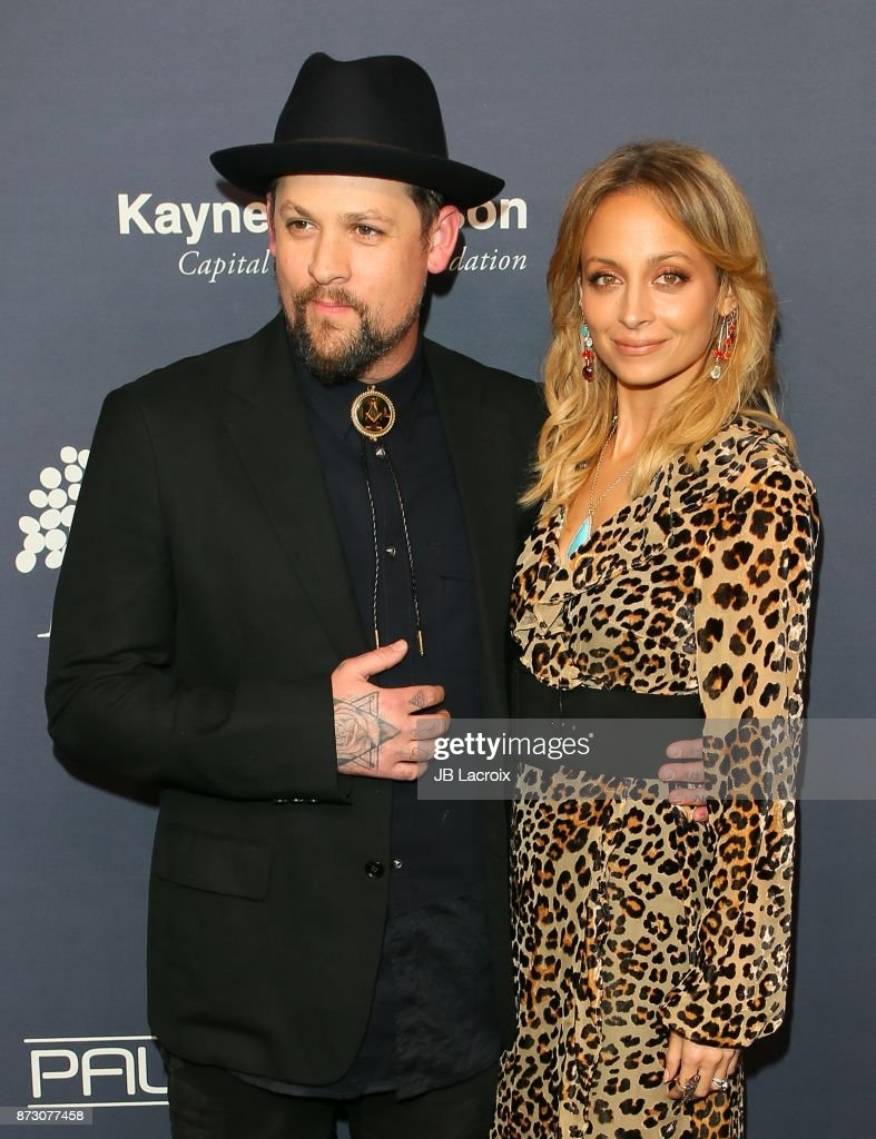 Joel Madden and Nicole Richie attend the 2017 Baby2Baby Gala on November 11, 2017 in Los Angeles, California.