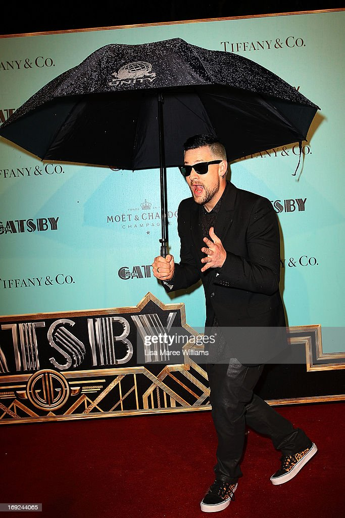 Joel Madden attends the 'Great Gatsby' Australian premiere at Moore Park on May 22, 2013 in Sydney, Australia.