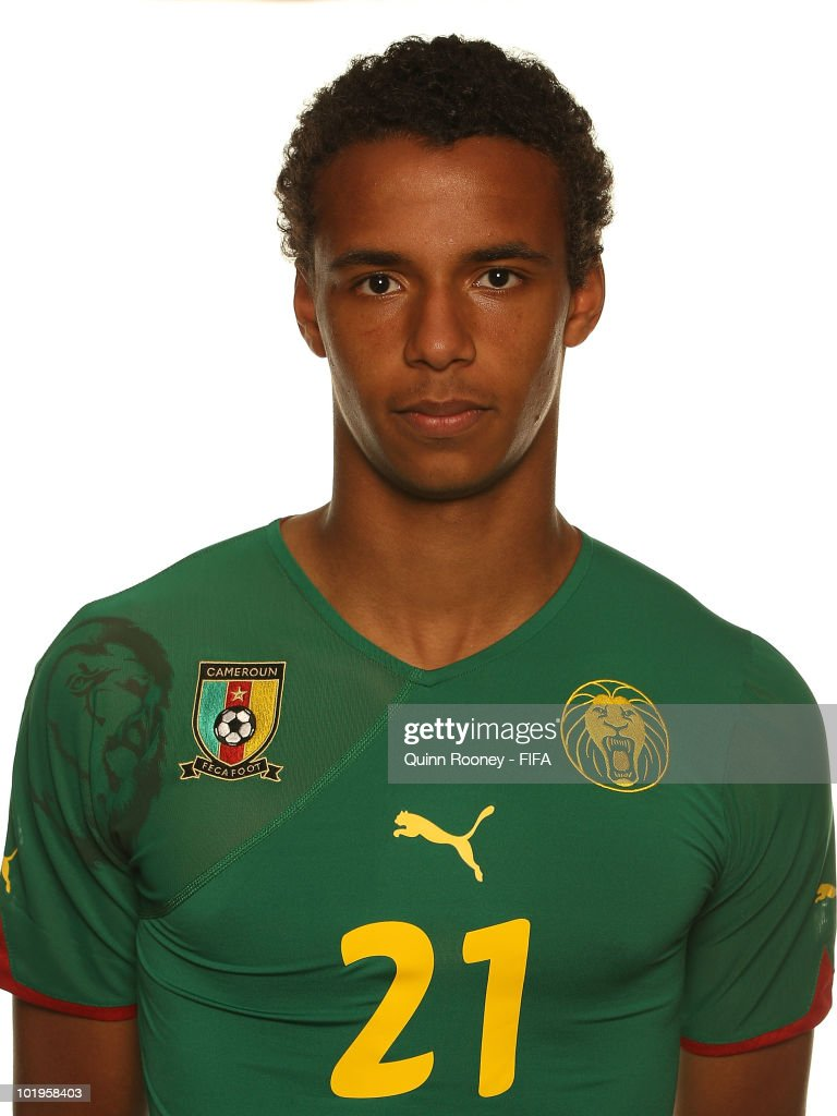 <a gi-track='captionPersonalityLinkClicked' href=/galleries/search?phrase=Joel+Matip&family=editorial&specificpeople=4462851 ng-click='$event.stopPropagation()'>Joel Matip</a> of Cameroon poses during the official FIFA World Cup 2010 portrait session on June 10, 2010 in Durban, South Africa.