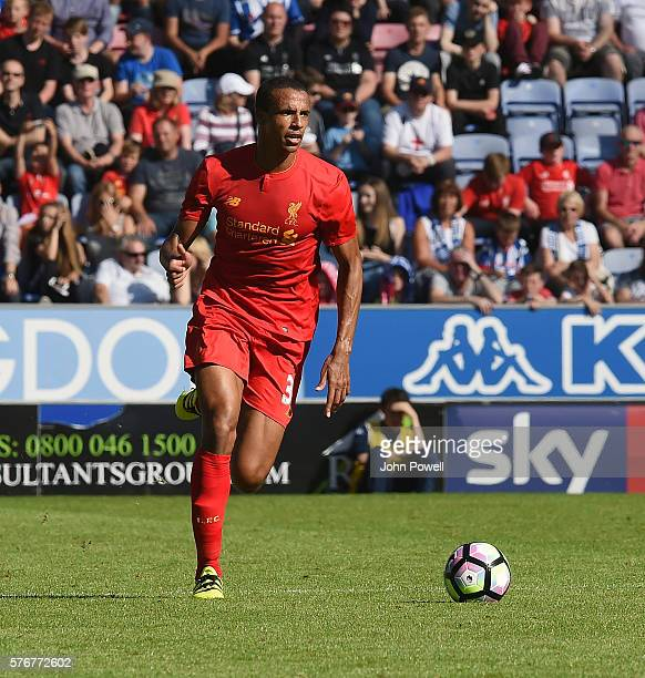 Joel Matip of Liverpool during the PreSeason Friendly match between Wigan Athletic and Liverpool at JJB Stadium on July 17 2016 in Wigan England