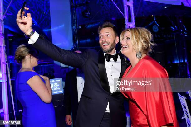 Joel McHale and Trisha Yearwood attend the 2017 Fragrance Foundation Awards Presented By Hearst Magazines at Alice Tully Hall on June 14 2017 in New...