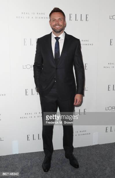 Joel McHale attends ELLE's 24th Annual Women in Hollywood Celebration at Four Seasons Hotel Los Angeles at Beverly Hills on October 16 2017 in Los...