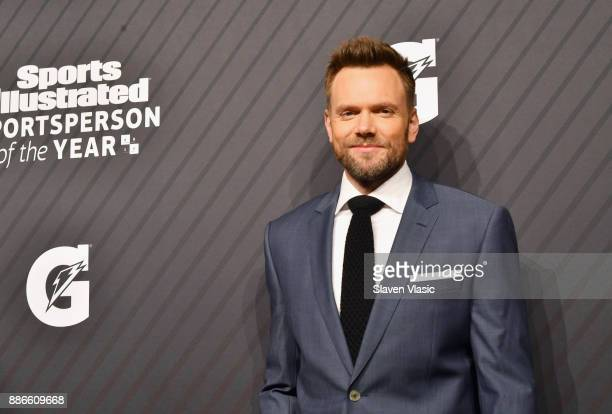 Joel McHale attends SPORTS ILLUSTRATED 2017 Sportsperson of the Year Show on December 5 2017 at Barclays Center in New York City Tune in to NBCSN on...