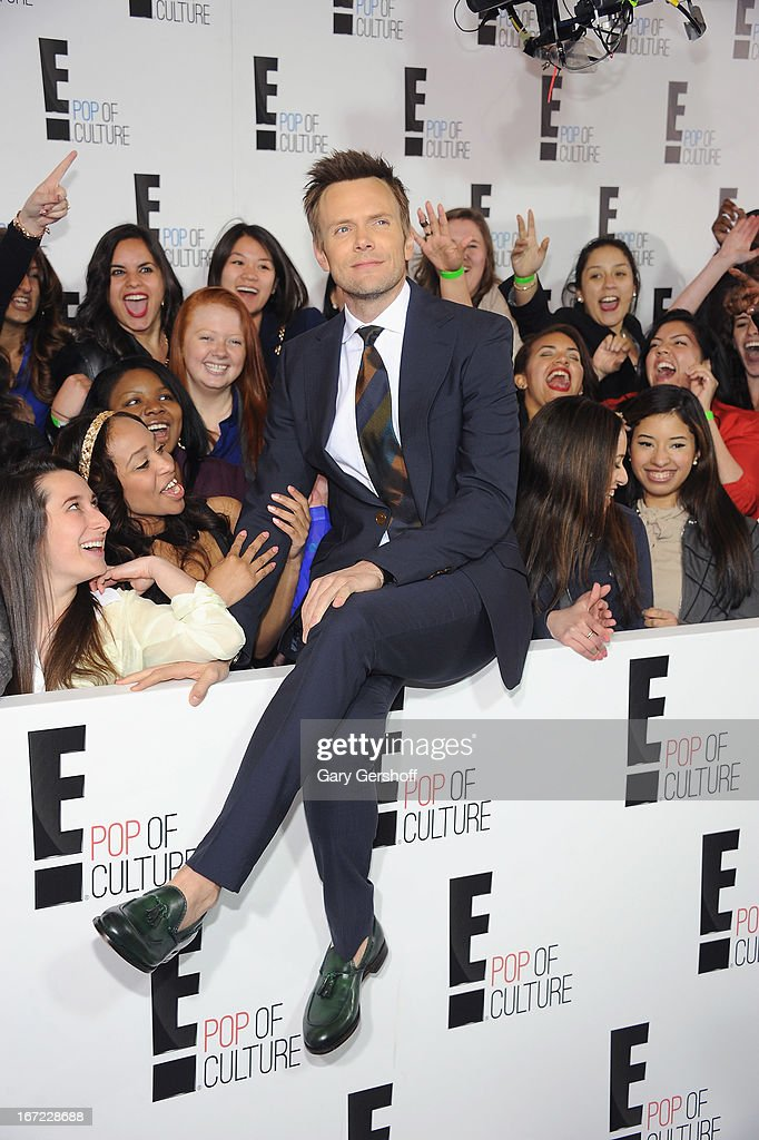 Joel McHale attends the 2013 E! Upfront at The Grand Ballroom at Manhattan Center on April 22, 2013 in New York City.