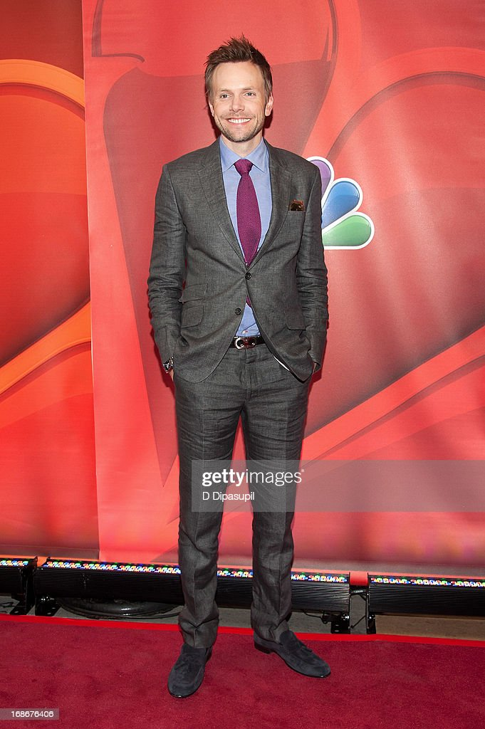 Joel McHale attends the 2013 NBC Upfront Presentation Red Carpet Event at Radio City Music Hall on May 13, 2013 in New York City.