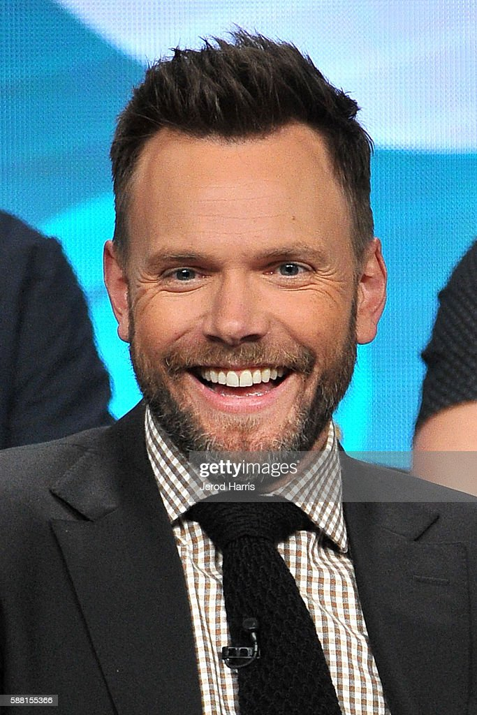 Joel McHale attends the CBS 2016 Summer TCA Panel at The Beverly Hilton Hotel on August 10 2016 in Beverly Hills California