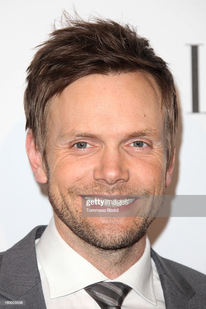 <a gi-track='captionPersonalityLinkClicked' href=/galleries/search?phrase=Joel+McHale&family=editorial&specificpeople=754384 ng-click='$event.stopPropagation()'>Joel McHale</a> attends the ELLE Women in Television Celebration presented by Hearts on Fire Diamonds and Wella Professionals held at Soho House on January 24, 2013 in West Hollywood, California.